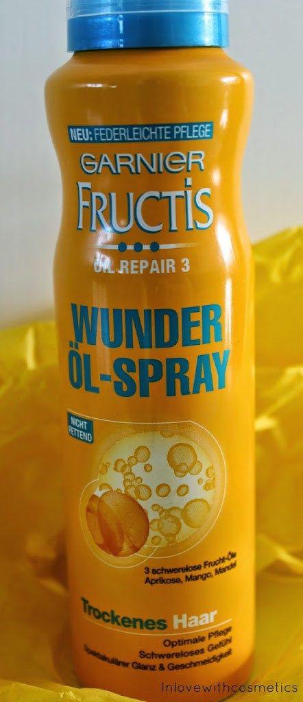 Garnier Fructis Oil Repair 3 Wunder Öl Spray Nicht fettend