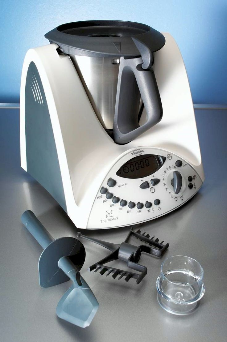 Thermomix is a superior kitchen appliance made by Vorwerk. Even makes me look good! (Mark)