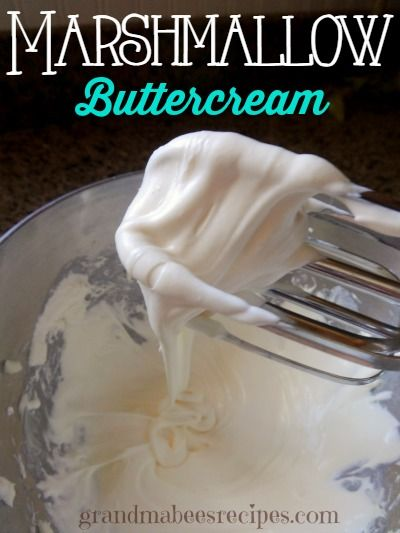 The first time I made this marshmallow buttercream frosting recipe, I was hooked! It's an ooey-gooey, creamy frosting that is soooo good on soft sugar cookies.