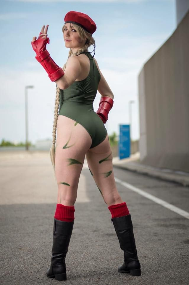 Cammy cosplay pussy sexy