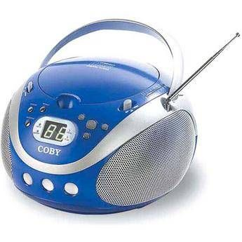 Coby CX-CD241 Portable CD Player (Blue)