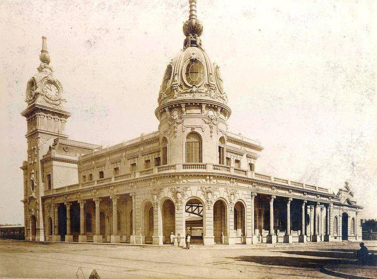 Mar del Plata. Estación de tren, fines del siglo XIX