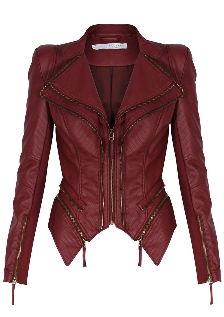 Best 25  Red leather jackets ideas on Pinterest | Who is hailey ...