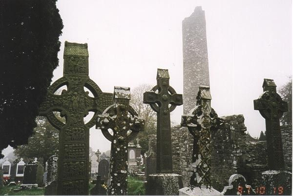 Кельтские кресты. Ирландия.