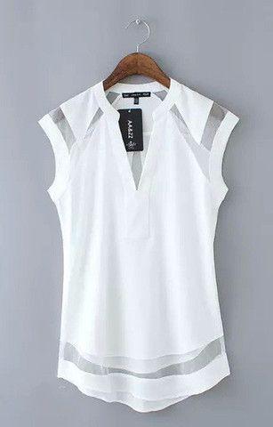 Más de 1000 ideas sobre Blusas Blancas en Pinterest | Blusas, Anne
