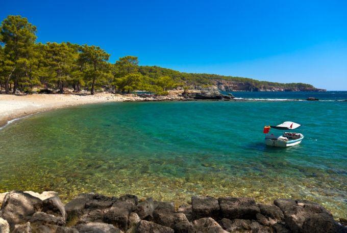 Phaselis – Kemer, Antalya, Türkiye'de görülmesi gereken saklı plaj ve koylar