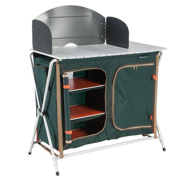£34.99 - Camping furniture - Camping Cupboard Unit - QUECHUA