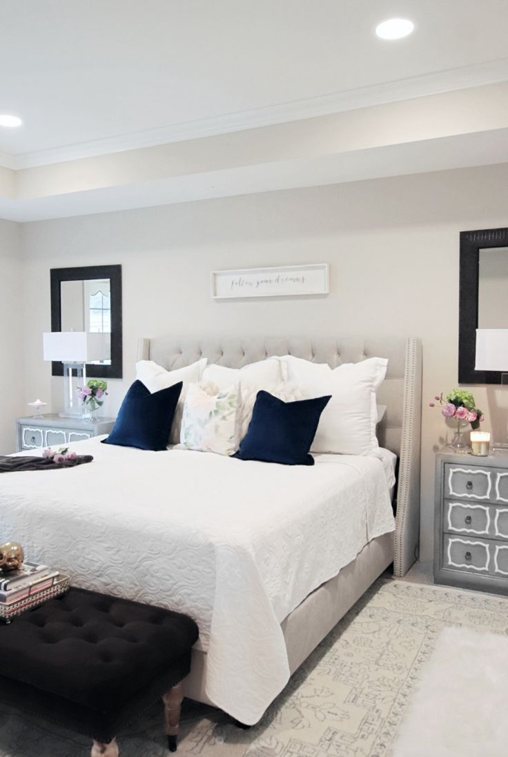 bedroom decorating ideas with sources linked bedroom bedroomdecor rh pinterest com
