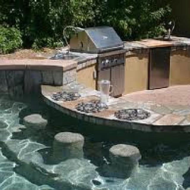 Backyard Pool Pool House: 68 Best Swimming Pool Ideas Images On Pinterest