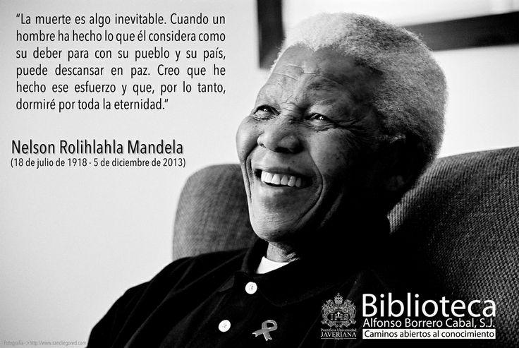 Nelson Rolihlahla Mandela Abogado, político, líder del Congreso Nacional Africano