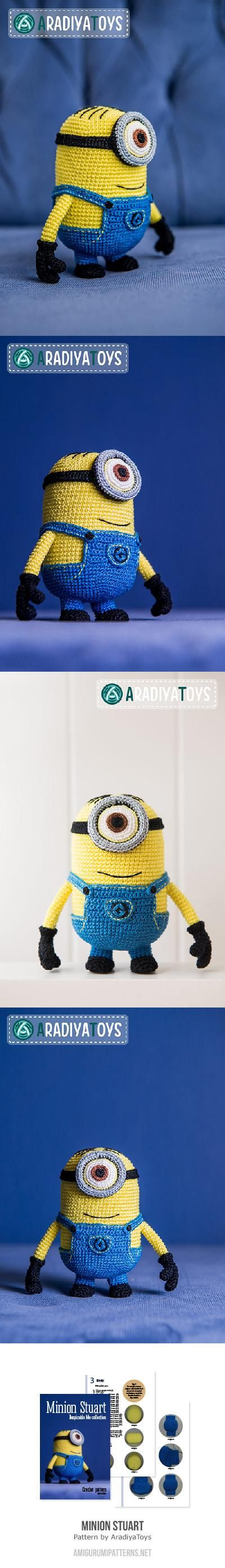 Minion Stuart (Despicable Me) Amigurumi Pattern