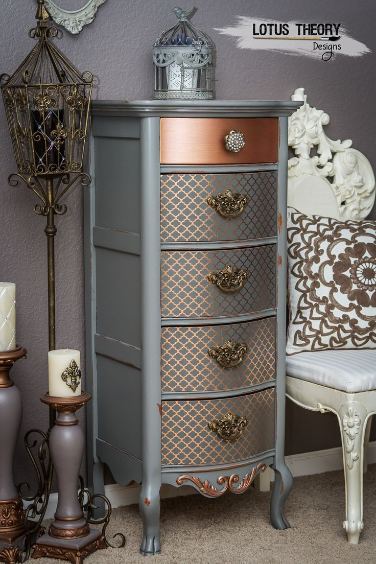 © ️️ Lotus Theory Designs Lexington lingerie chest, gray with …   – Entrance