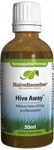 Hive Away - Homeopathic remedy to relieve symptoms of poison ivy including hives, itching, redness and inflammation. #hive #remedy #herbal