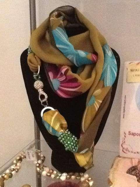 Riciclo creativo dei foulard - Foulard diventa gioiello
