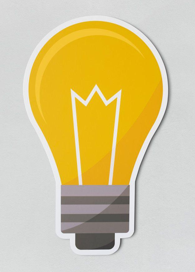 Creative Light Bulb Icon Free Psd Freepik Freepsd In 2020 Light Bulb Icon Light Bulb Creative Lighting