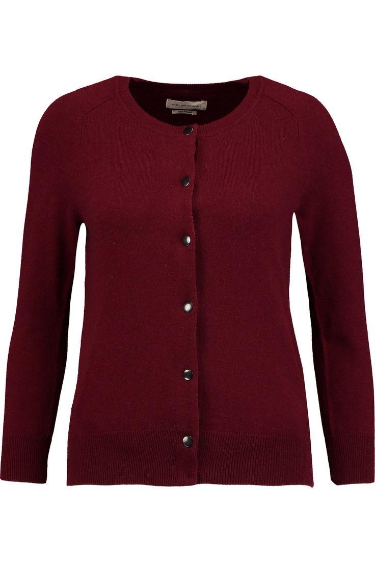 ETOILE ISABEL MARANT Kalibo Cotton And Wool-Blend Cardigan. #etoileisabelmarant #cloth #cardigan
