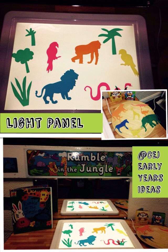 Rumble in the Jungle light box enhancement.