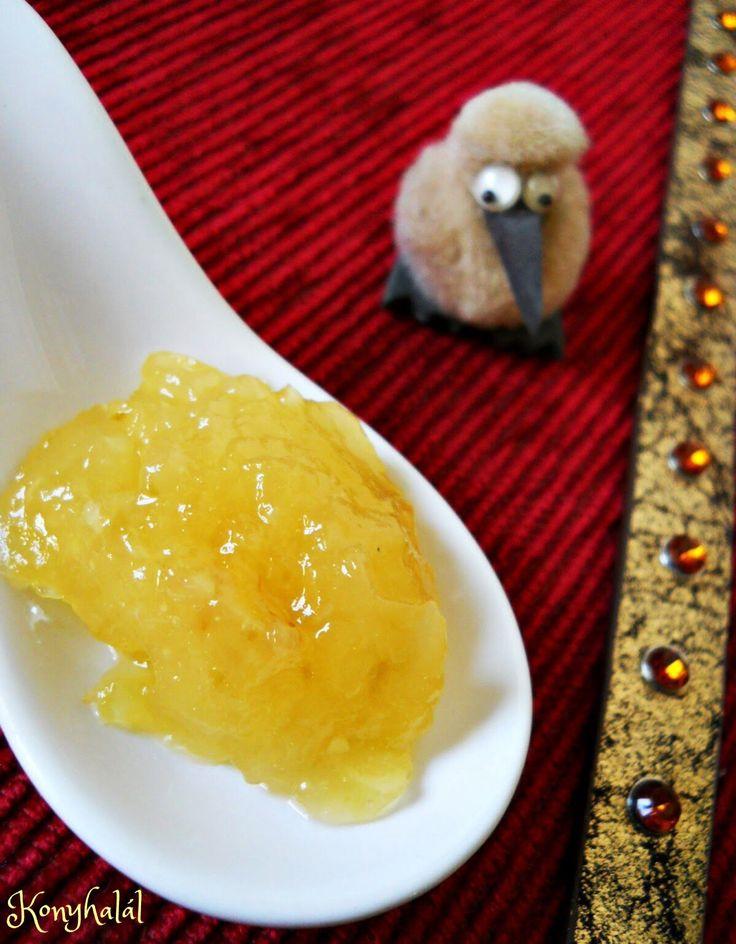 Ananászos cukkinidzsem | Konyhalál
