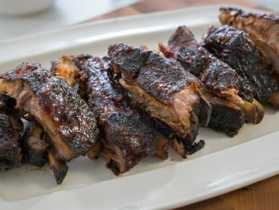 Stovetop Smoked Baby Back Ribs with Maple BBQ Sauce Recipe | Trisha Yearwood | Food Network