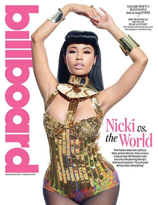In an exclusive interview with Billboard Magazine, Nicki Minaj opens up about her work ethic, why she loves Beyonce and what she loves to do with her free time.