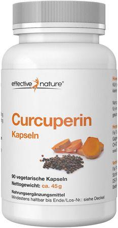 Kurkuma und Piperin - Curcuperin - 90 Kapseln