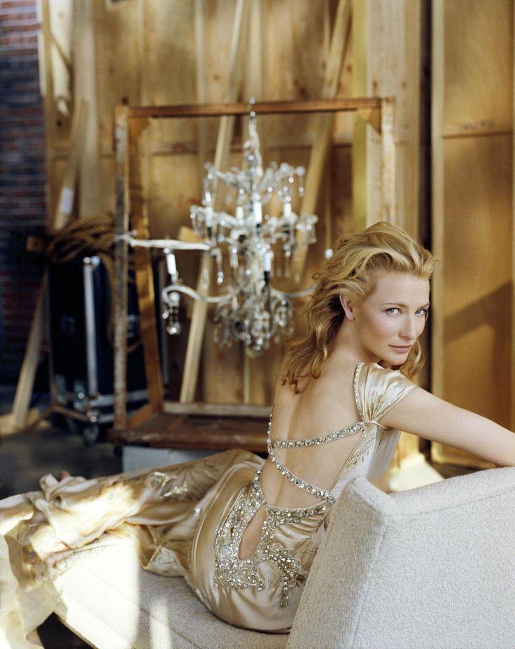 luxe-calme-et-volupte:  Cate Blanchett by Regan Cameron for InStyle Australia (June 2006).
