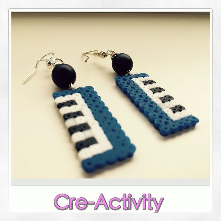 Orecchini hama beads - satomi style