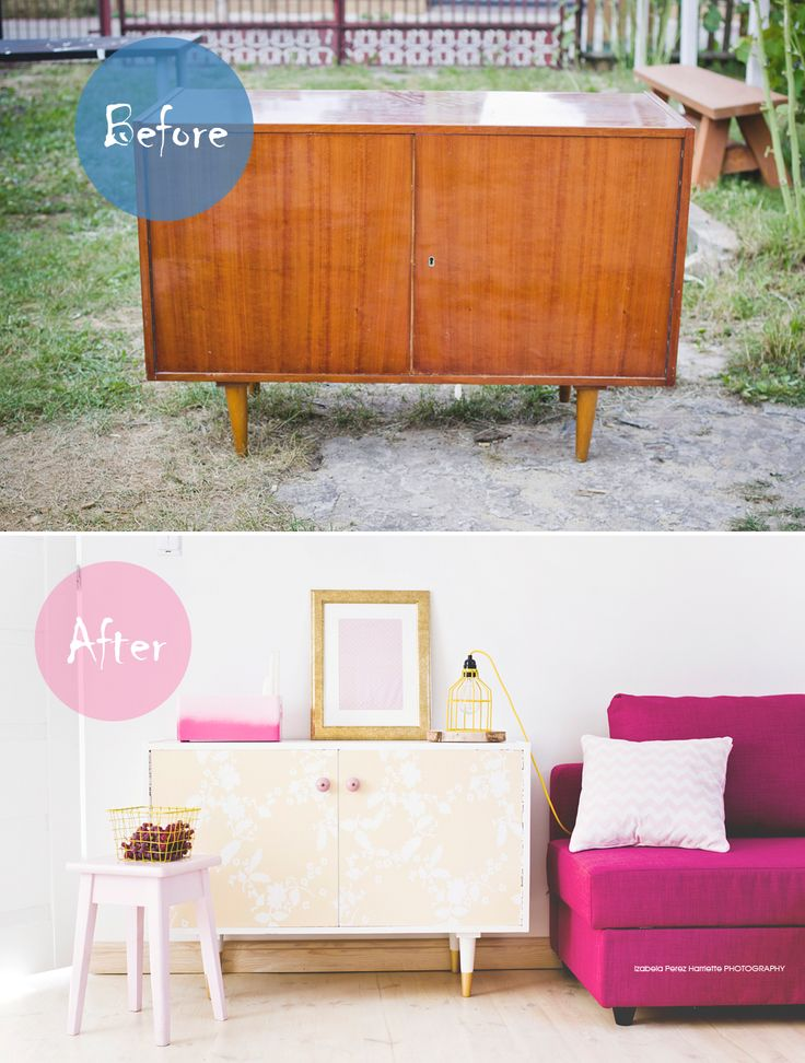 furniture makeover by coloresdemialma