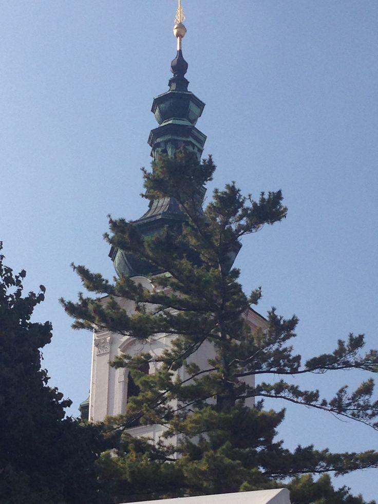 A hidden tower of the Strahov Monastery basiliq