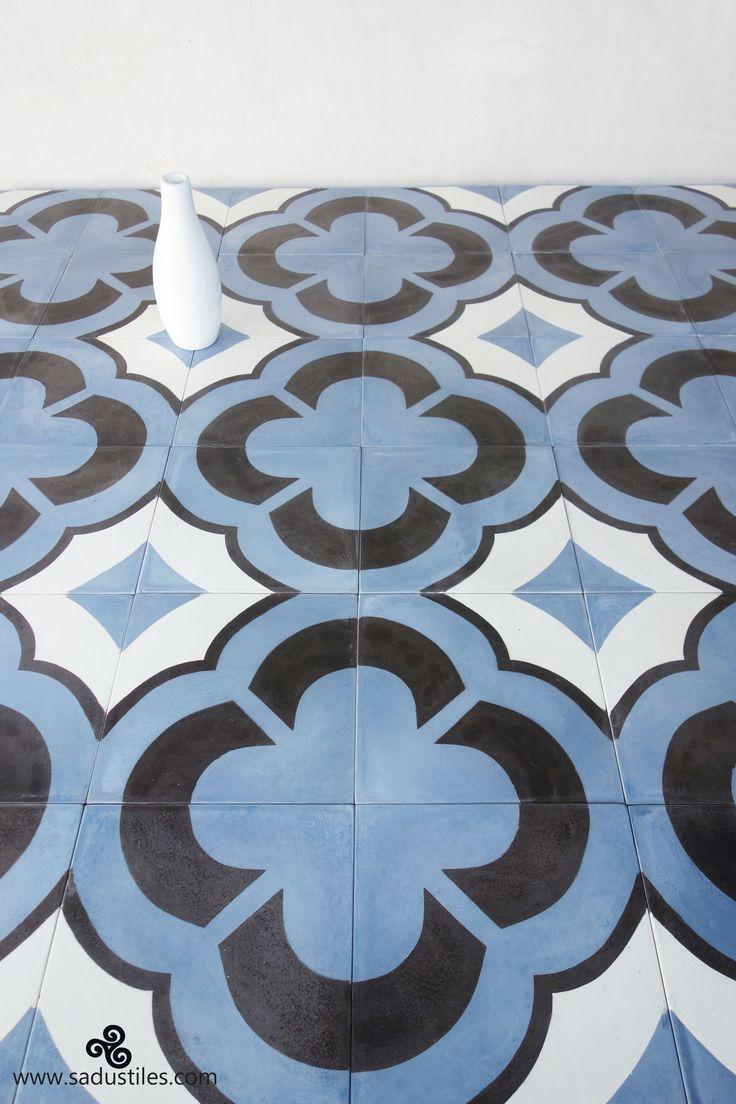 Sadus Tiles handmade cement tiles from Bali - Indonesia.