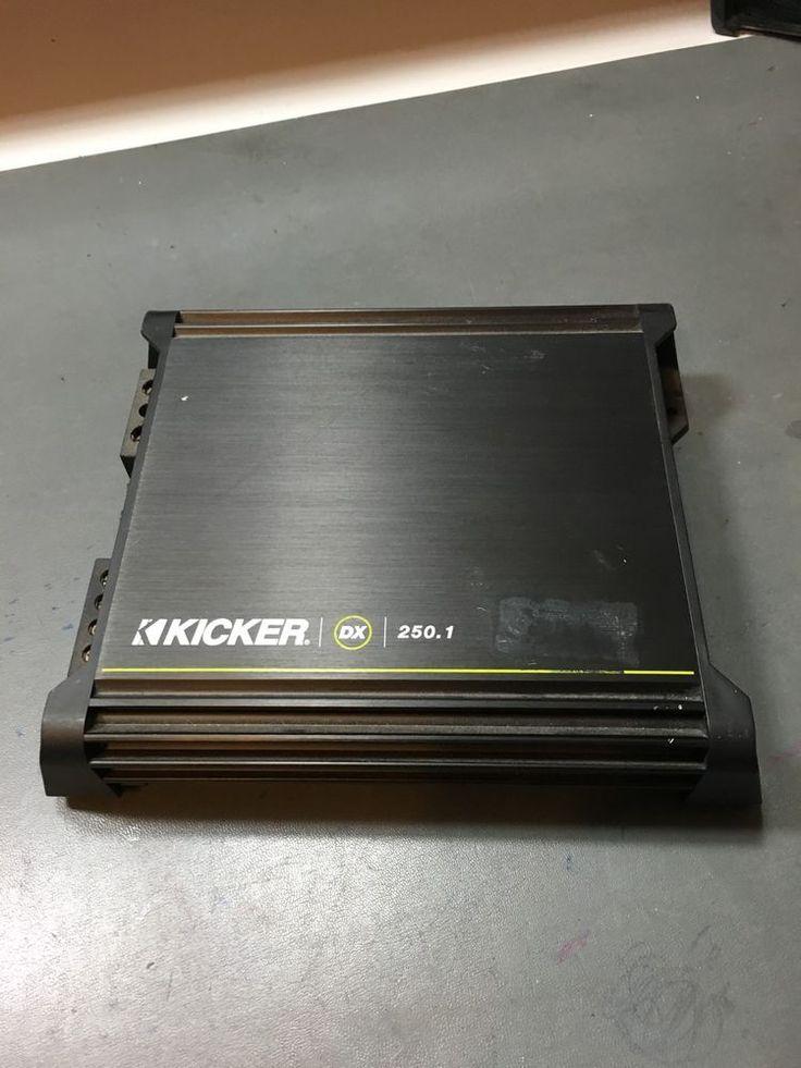 17 best ideas about kicker car audio kenwood car kicker dx250 1 1 channel car amp