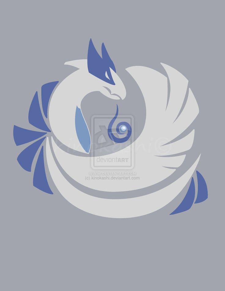 Soul Silver Lugia by kinokashi on deviantART