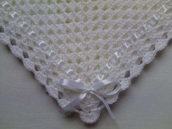 Crochet coperta del bambino e bambino cappello Set regalo di