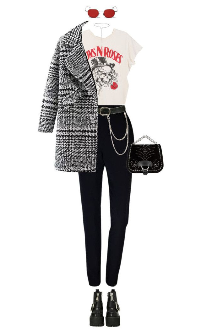 """""""Untitled #1015"""" by abbygbrewer on Polyvore featuring MadeWorn, Plakinger, Wet Seal, Miu Miu, Jeffrey Campbell and Eddie Borgo"""