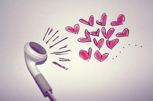 I hear love