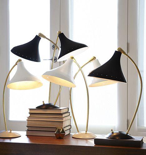 Lynwood mid century inspired lamps rejuvenation