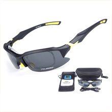 OBAOLAY Sport Cycling Sunglasses Bike Goggles Fishing Cycling Glasses Eyewear Men Polarized Lens Gafas Ciclismo Bicycle glasses