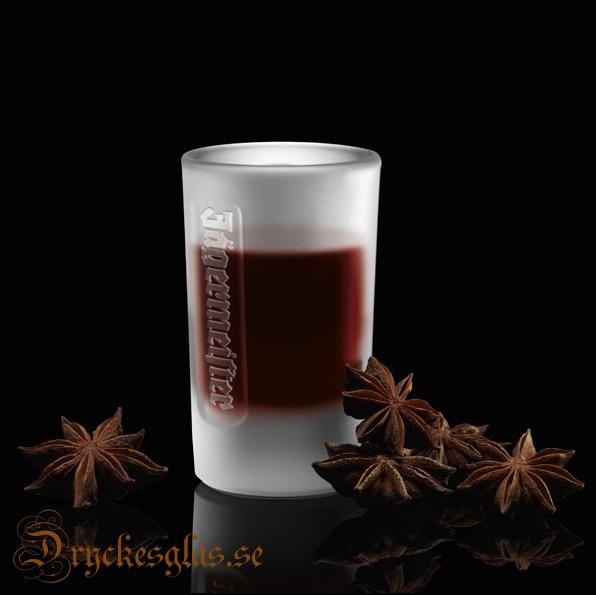 Jägermeisterglas 6 st 2 cl - Dryckesglas.se