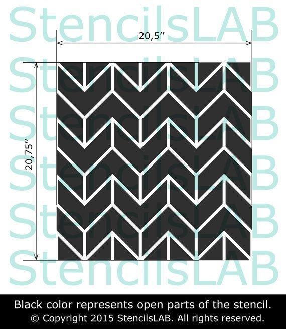 Esta plantilla de pared fácil de usar es una solución perfecta para tu idea de decoración.  Plantilla tamaño: 20,5 W x 20,75 H  Nota: Esta es una