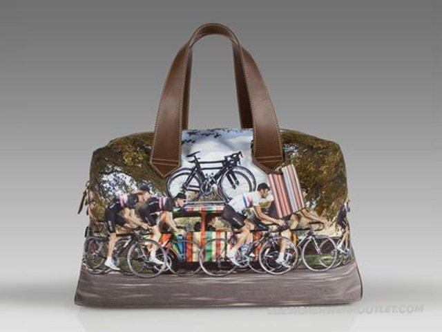 Paul Smith Handbags Olive/Raw Umber