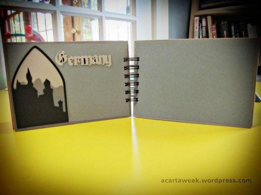 Cricut Destinations and Blackletter: Epcot Mini Album GermanyPage: Scrapbook Layout, Disney Scrapbook, Scrapbook Minis, Scrapbook Addict, More Scrapbook Ideas