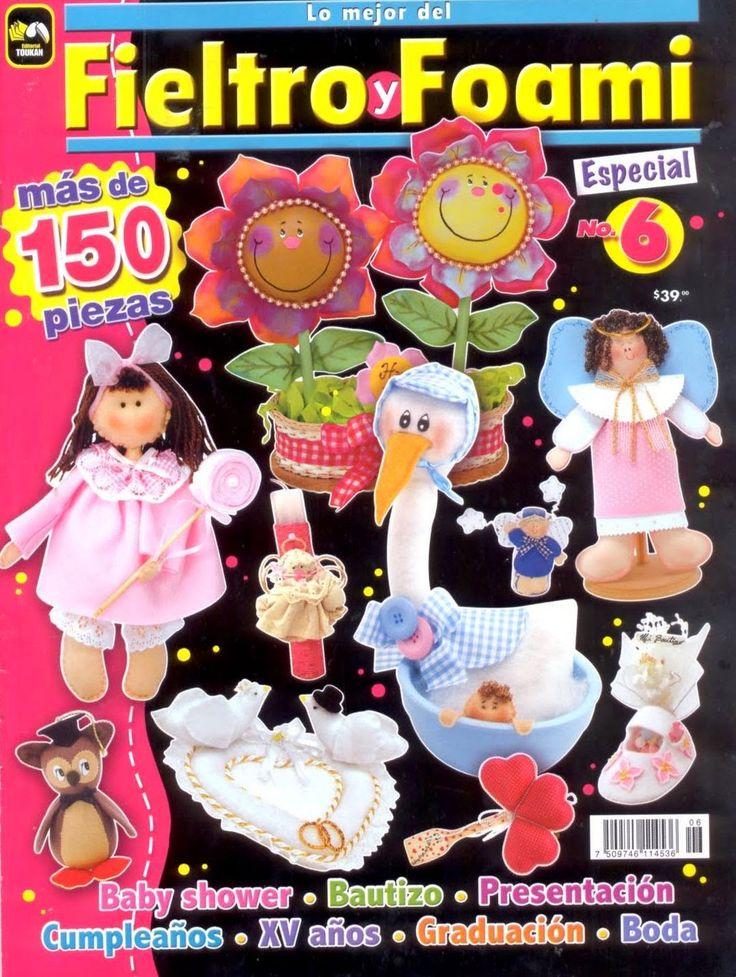Revistas de Foamy gratis: Revista gratis de foami y fieltro