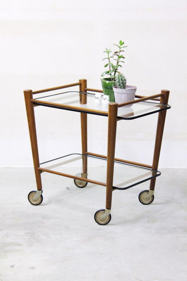 Pastoe Cees Braakman trolley / serveerwagen / theewagen