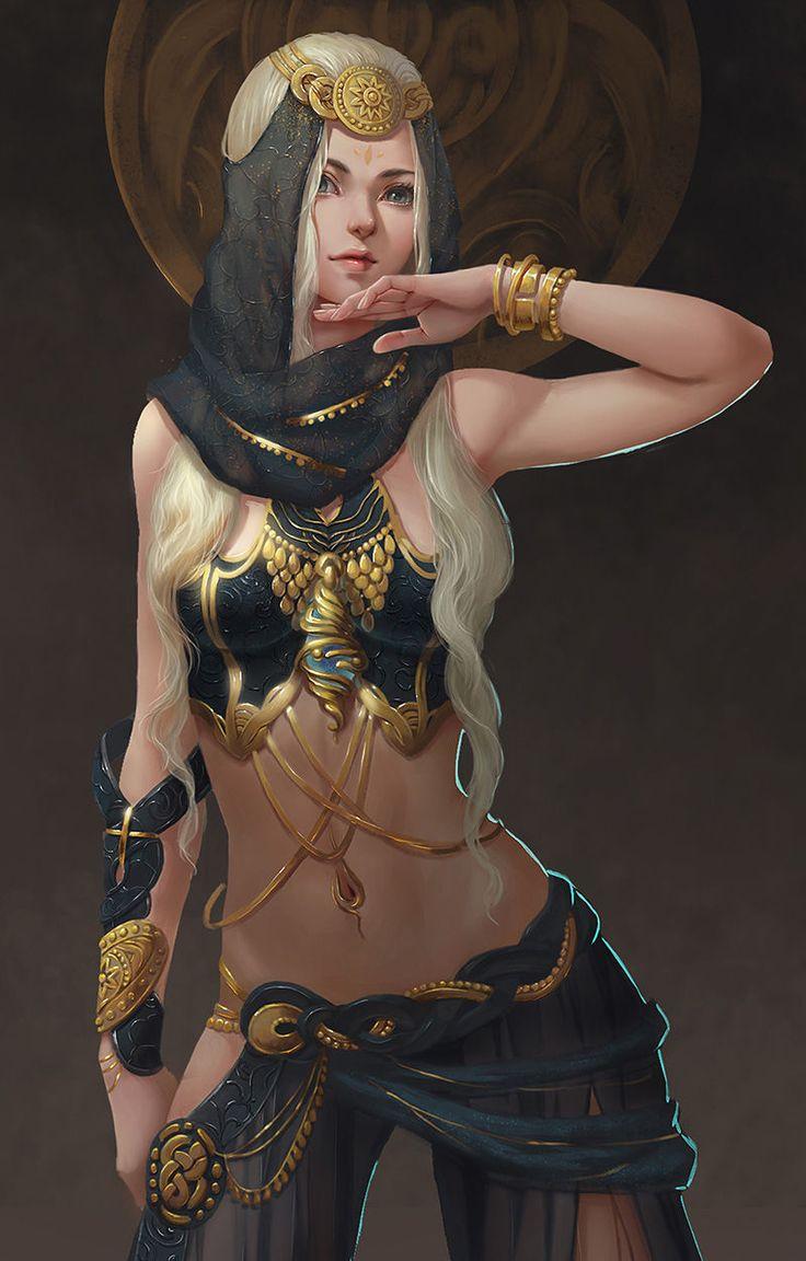 The mystic world of Terallynn — ravennomad:   art-of-cg-girls:   untitled by...