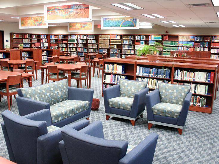 43 best Modern High School libraries images on Pinterest