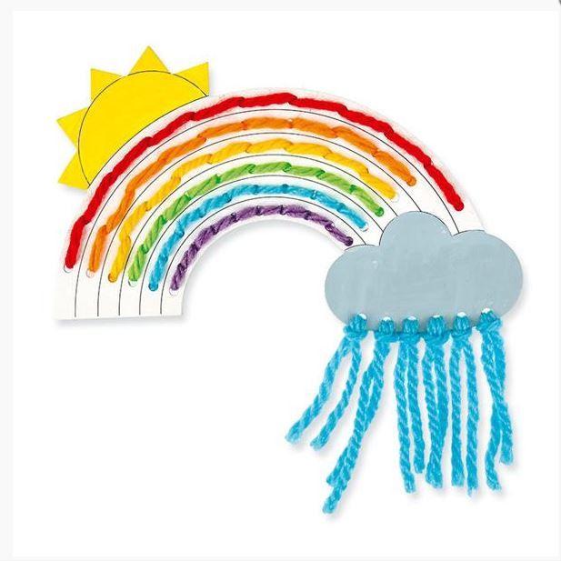 15+ Regenbogen aus papier basteln ideen