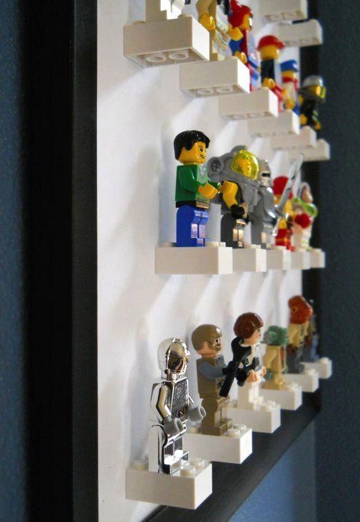 Lego-gubbar som konst | LAND.se