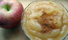 Receita de puré de maçã - Vix