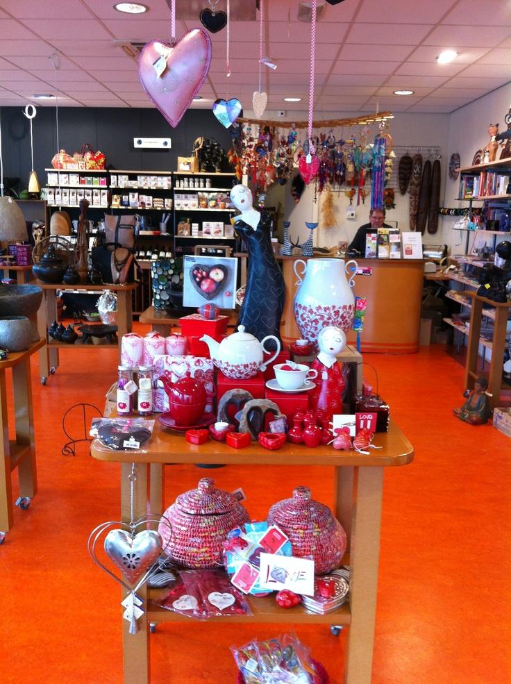 Valentijnstafel@wereldwinkel Hoogezand