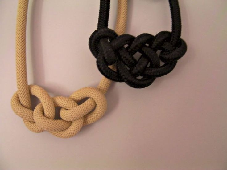 necklaces with rope ;)